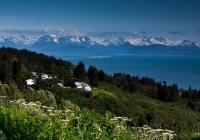 The Mountains above Kachemak Bay