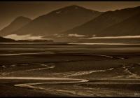 Low tide along Turnagain Arm.