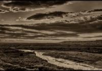 Virgin River, NV tributary of the Colorado River, traverses three states, Utah, Nevada and Arizona.
